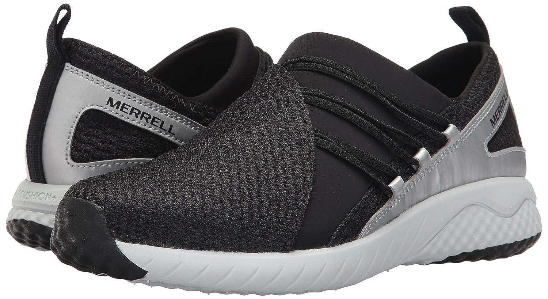 Merrell Women's 1SIX8 Moc AC+ Fashion Sneaker B01MZ0HOIK 9.5 B(M) US|Black