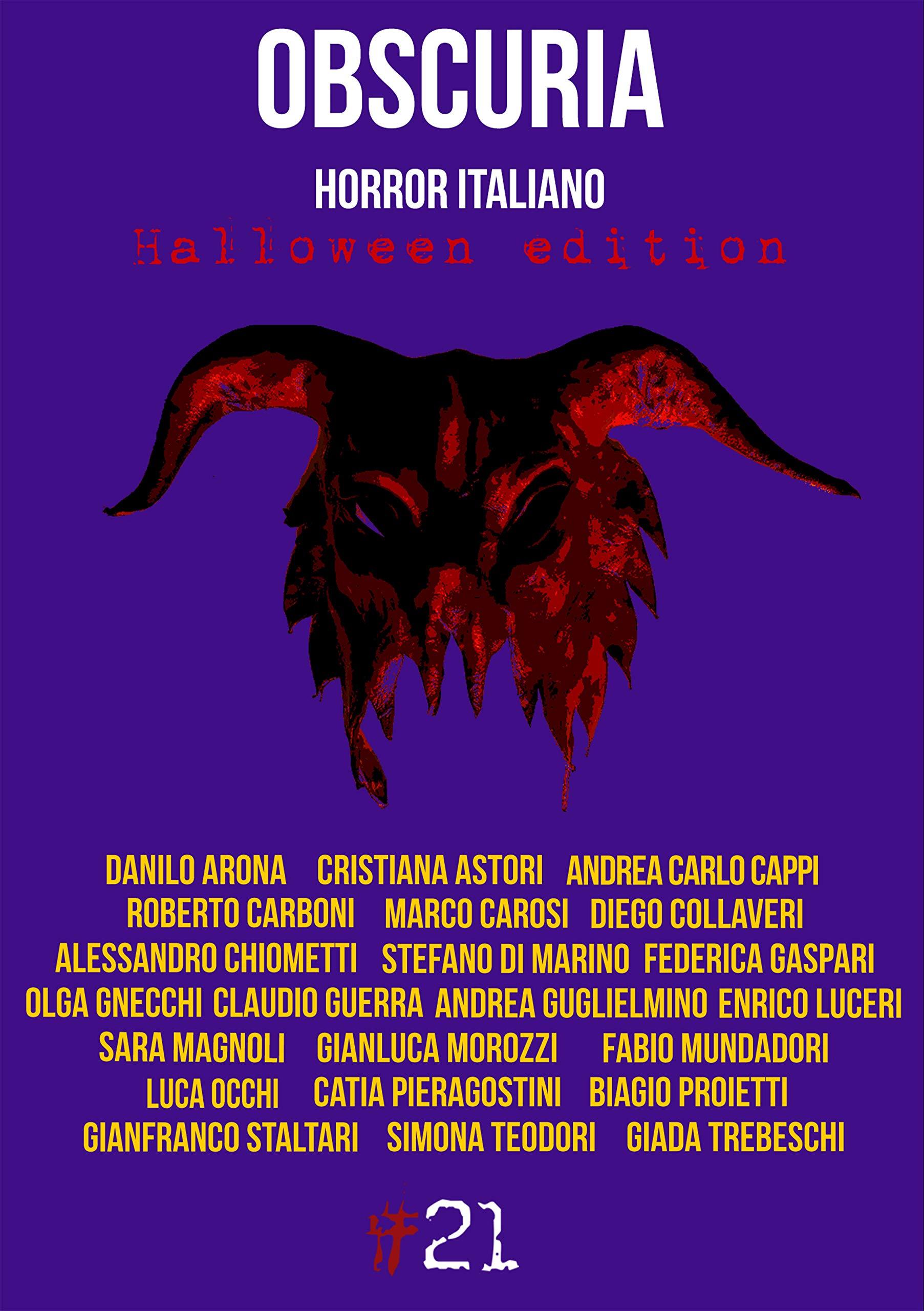 Risultati immagini per Obscuria. Horror italiano. Halloween edition – Autori Vari