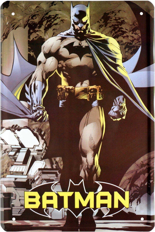 Batman Comic Held Hero Cartel de chapa 20 x 30 Retro Chapa ...