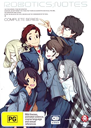 Amazon Com Robotics Notes Complete Series Dvd Anime Movies Tv