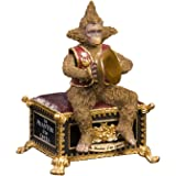 The San Francisco Music Box Company Phantom of The Opera Musical Monkey Figurine