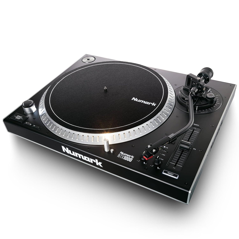 Numark TT250USB | Plato giradiscos de DJ Profesional de Tracción Directa con Par de Torsión Superior, Cápsula Magnética de Alta Calidad y Entrada de ...