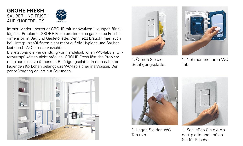 Grohe Gro38967000 Kit Di Conversione Per Cassetta Di Risciacquo