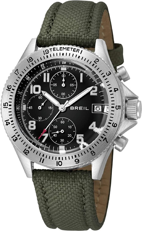Reloj BREIL por Hombre Maverick con Correa de Tela, Movimiento Chrono Cuarzo