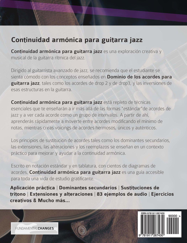 Continuidad armónica para guitarra jazz: Amazon.es: Mr. Joseph Alexander, Mr. Gustavo Bustos: Libros