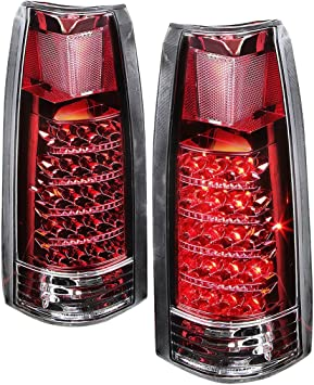 Tail Light 88-00 Chevy GMC Pickup 92-99 Suburban Yukon Passenger Side 16506356