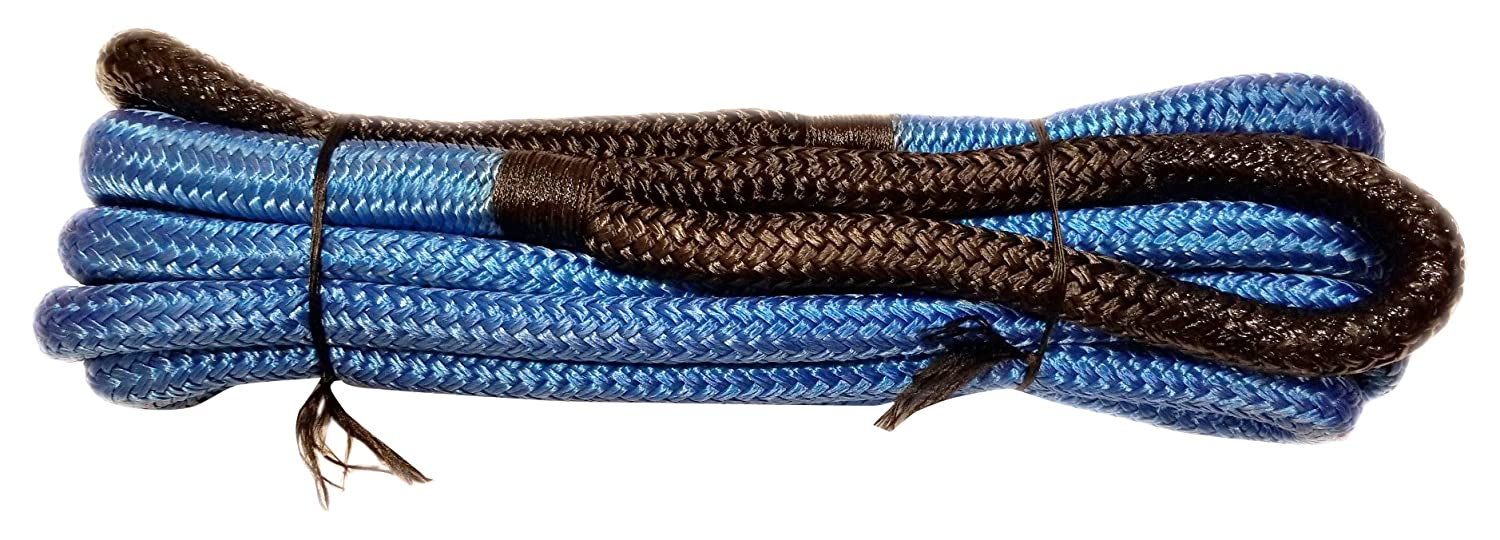 Offroad LKRBLWBLK 3//4 Inch X 20 Foot Kinetic Rope Blue//Black Arachni Recovery Equipment A.R.E