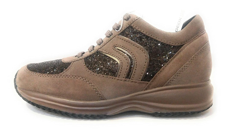 Zapatos Mujer Casual GEOX D Happy in camoscio Beige Beige Beige D6462A-022EW-CQ6L6 f82476