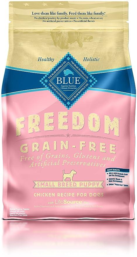blue freedom grain free dog food