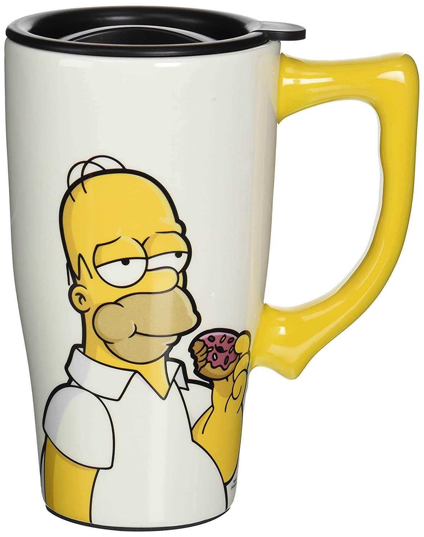 taza de Viaje Homero