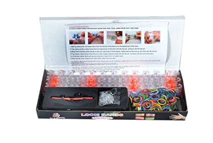 Buy diy loom bands kit online at low prices in india amazon diy loom bands kit fandeluxe Choice Image