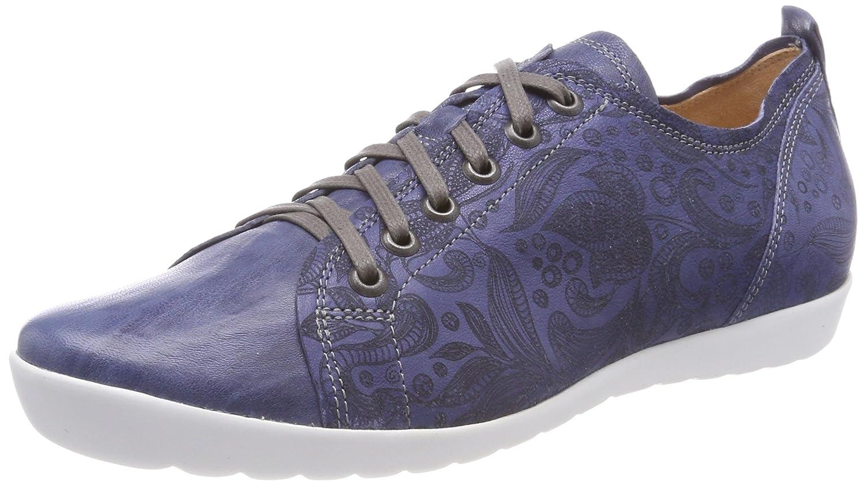 Think Anni_282055, Zapatos de Cordones Brogue para Mujer 40 EU|Azul (Jeans/Kombi 84)