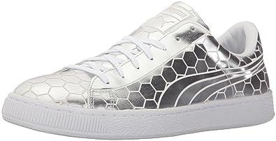 PUMA Men s Basket Classic Metallic Fashion Sneaker 712f56f99