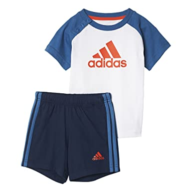 40cfc50687 adidas I Sum Set Boys Shirt-Set mit Shorts, Kinder, Kinder: Amazon ...