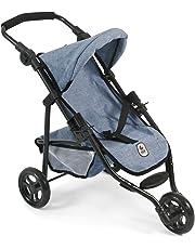 Bayer Chic 2000 612 50 – Jogging Buggy Lola, pequeño Carro para muñecas de hasta
