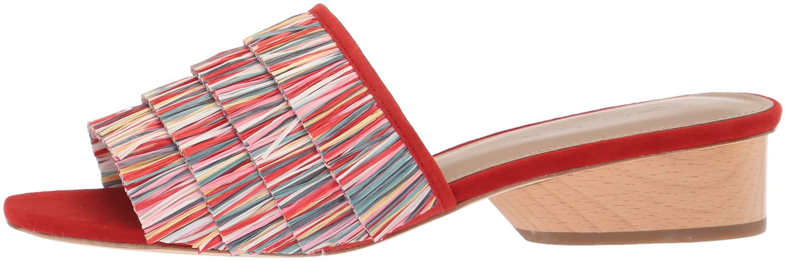 Donald J Pliner Women's Reise Slide Sandal, Red/Multi, 9 Medium US by Donald J Pliner (Image #5)