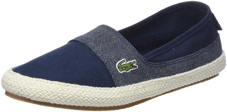 Lacoste Marice 218 1 Caw, Zapatillas para Mujer 38 EU|Verde (Nvy/Lt Blu 7e9)