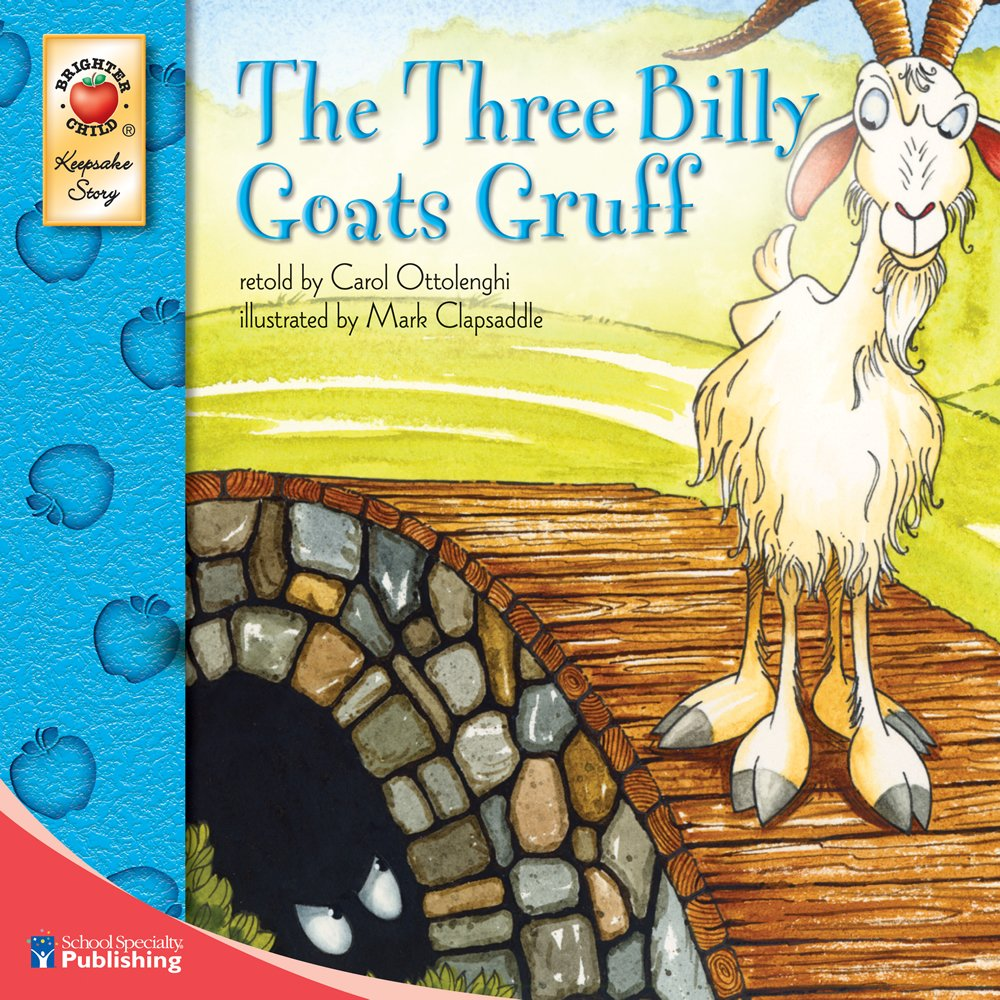 Worksheet Three Billy Goats Gruff Story amazon com the three billy goats gruff keepsake stories 9780769658681 carol ottolenghi books