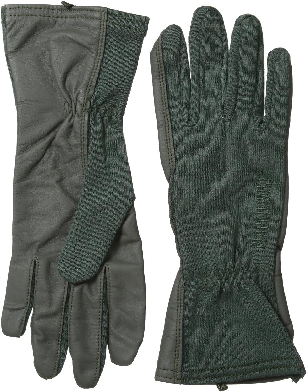 Nomex Pilot Tactical Flyer Flight Firefighter Gloves Black,Green