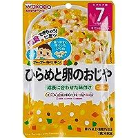 Wakodo Rice Porridge With Flounder And Egg Pouch, 80G