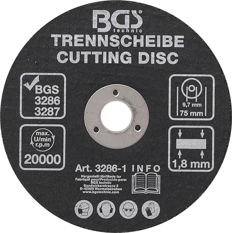 3286 Bgs Disque /à tron/çonner 75/mm 1