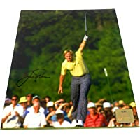 $109 » Jack Nicklaus Masters Signed Autograph 8x10 Photo Photograph Golden Bear Holo Certified