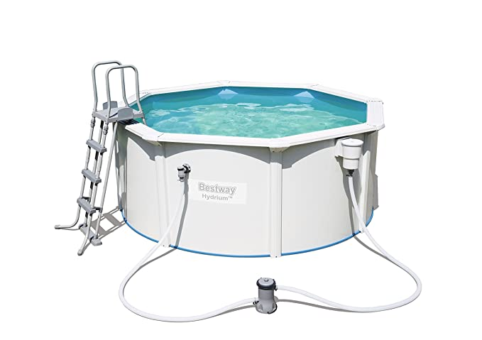 Bestway Best Way - Piscina Desmontable de Acero hydrium 300x120 cm + depuradora de Cartucho: Amazon.es: Jardín