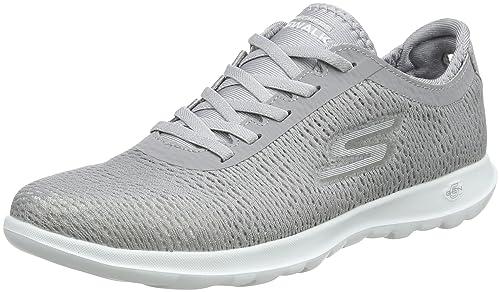 Skechers Go Walk Lite - Saavy, Sneaker Donna, Grigio (Grey ...
