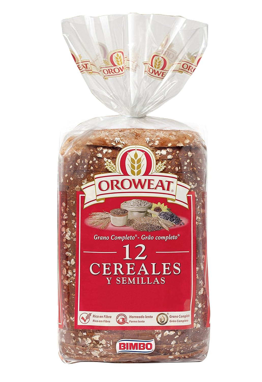 Oroweat Pan de Molde Integral, 12 Cereales y Semillas, 18 Rebanadas - 680 g: Amazon.es: Amazon Pantry