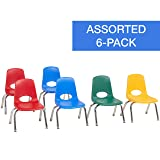 "FDP 10"" School Stack Chair, Stacking Student"