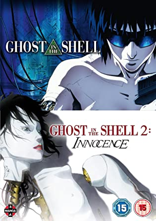 Amazon Com Ghost In The Shell Movie Double Pack Ghost In The Shell Ghost In The Shell Innocence Dvd Movies Tv