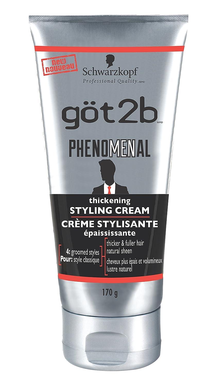 got2b Phenomenal Thickening Styling Cream for Men, 170 Grams (2000234) Henkel Canada