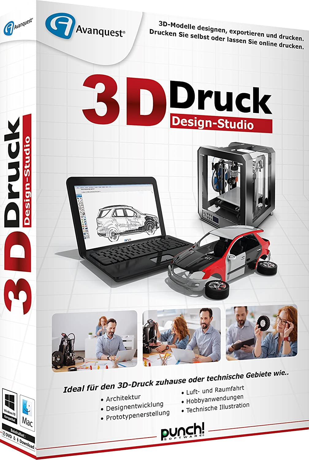 Avanquest 3D-Druck Design-Studio Software: Amazon.de: Software