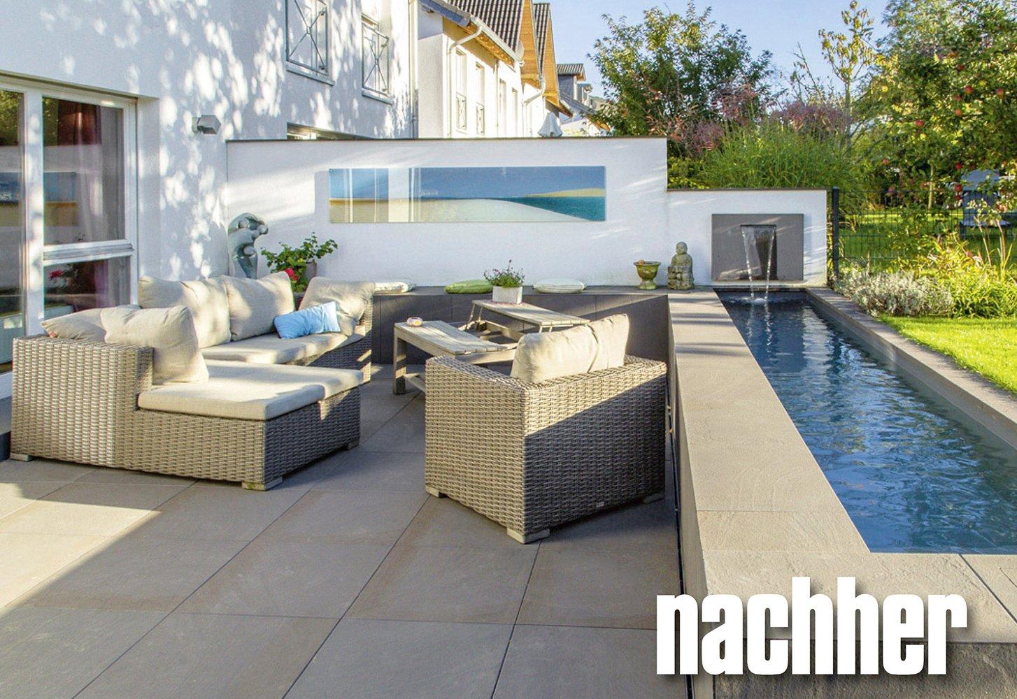 Vorher-nachher-Gärten - Modernes Gartendesign richtig planen ...