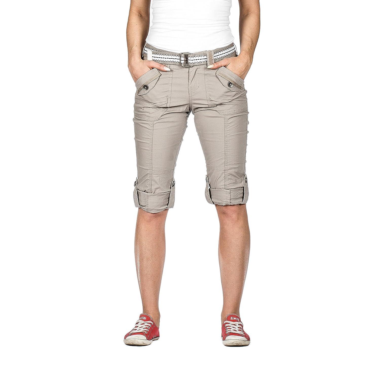 f90b026302385 cheap Suko Women Cargo Capri Pants Adjustable length stretch poplin 2 to 22  PLUS SIZE