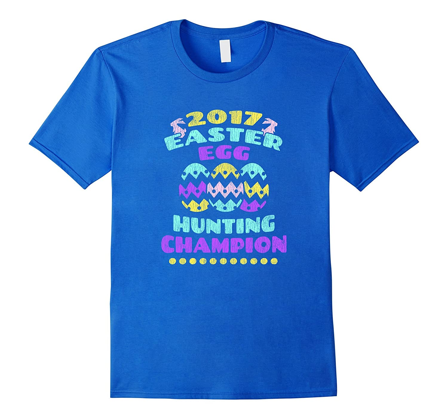 2017 Easter egg hunting champion Cute kids T-shirt-CD