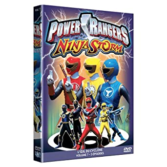 Power rangers ninja storm, vol. 7 [Francia] [DVD]: Amazon.es ...