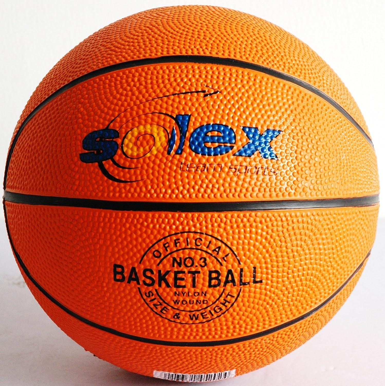 Solex Sports 45202 - Balón de Baloncesto (tamaño pequeño, 18 x 18 ...