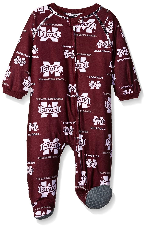 NCAA by Outerstuff NCAA Newborn Boys Team Print Sleepwear Coverall