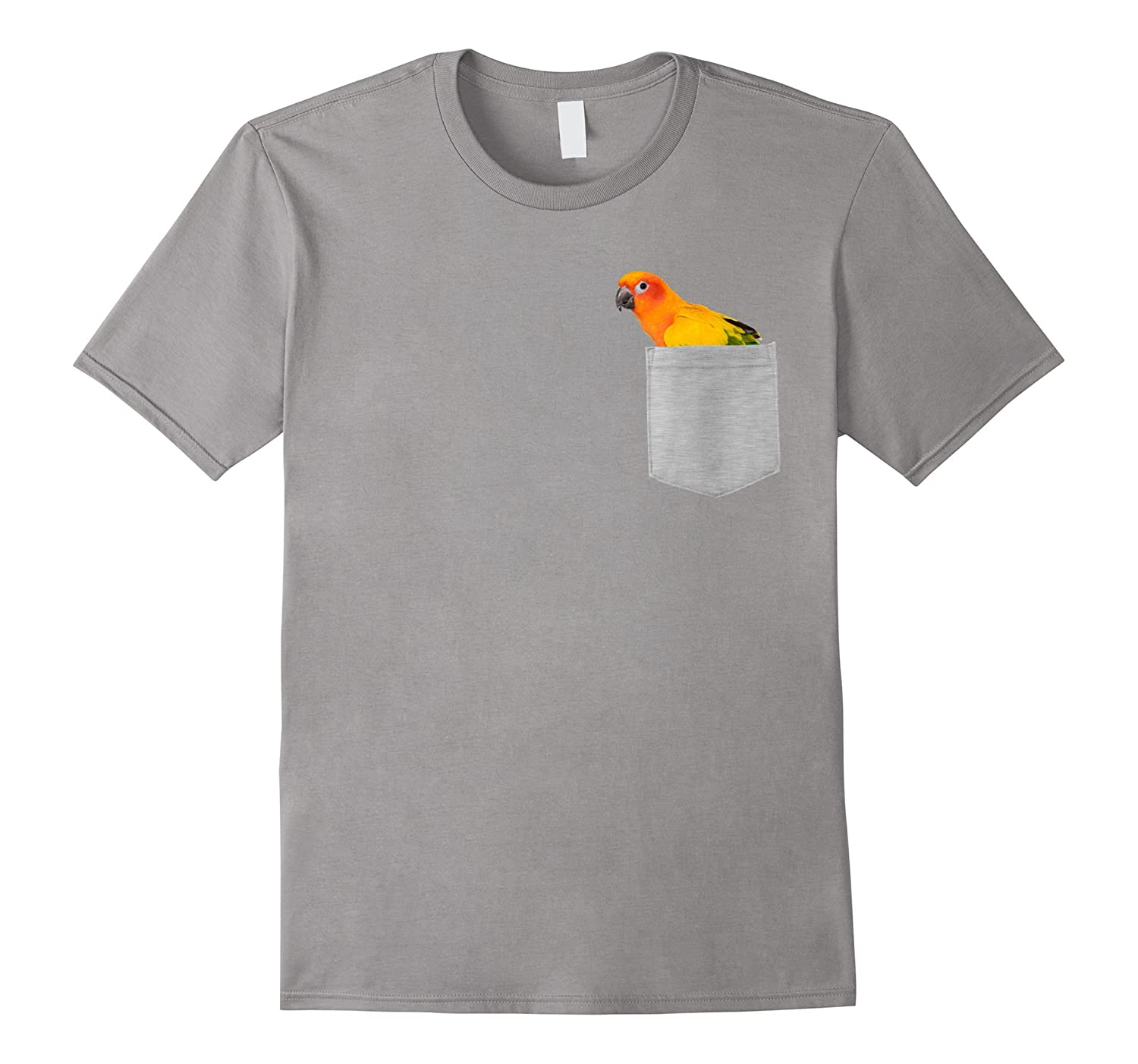 Animal in Your Pocket Sun Conure Parrot t shirt-T-Shirt