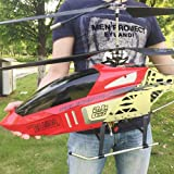 Mopoq Large Remote Control Aircraft Charging Electric Fall-Resistant Aircraft Drone Children Outdoor Toys Adult Helicopter Parent-Child Boy