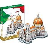 3D Puzzle Catedral de Santa María Florencia Italia Kathedrale Santa Maria Florenz Cattedrale Cathedral Italien Italia Fiore Cubic Fun CubicFun Firenze
