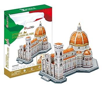 Puzle 3D CUBIC FUN MC188h, Catedral de Santa María de la Flor, Florencia,