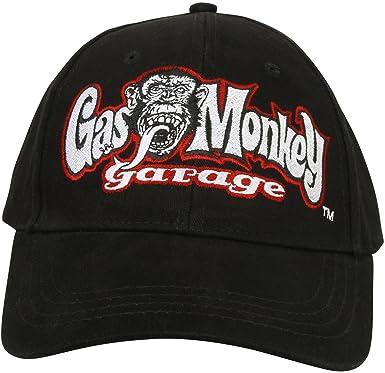 46d7837ef1e Gas Monkey Garage Cap Shop Cap Black  Amazon.co.uk  Clothing
