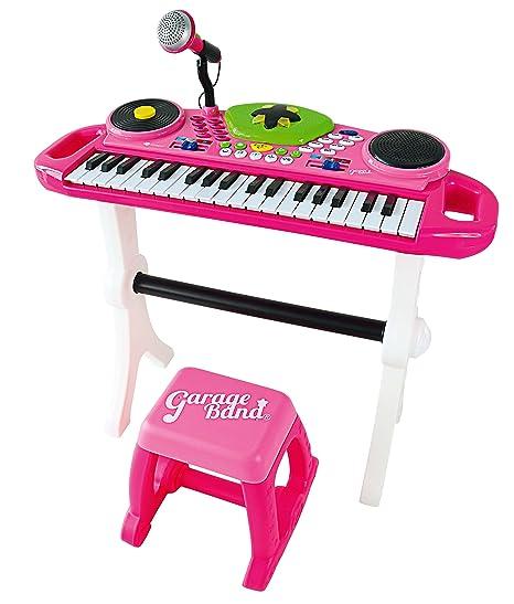 itsImagical Teclado electrónico con micrófono de Color Rosa Imaginarium 88103
