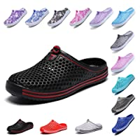 OUYAJI Womens Summer Breathable Mesh Sandals,slippers,Beach Footwear,Water Shoes,indoor shoes,bash shoes,Walking,Anti-Slip,Garden Clog Shoes