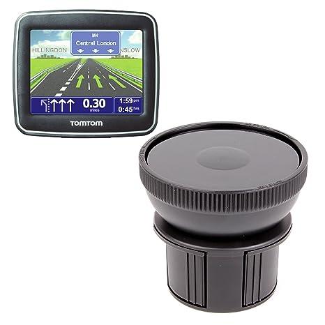DURAGADGET – Base de soporte para portavasos de coche para GPS TomTom START 2, 25