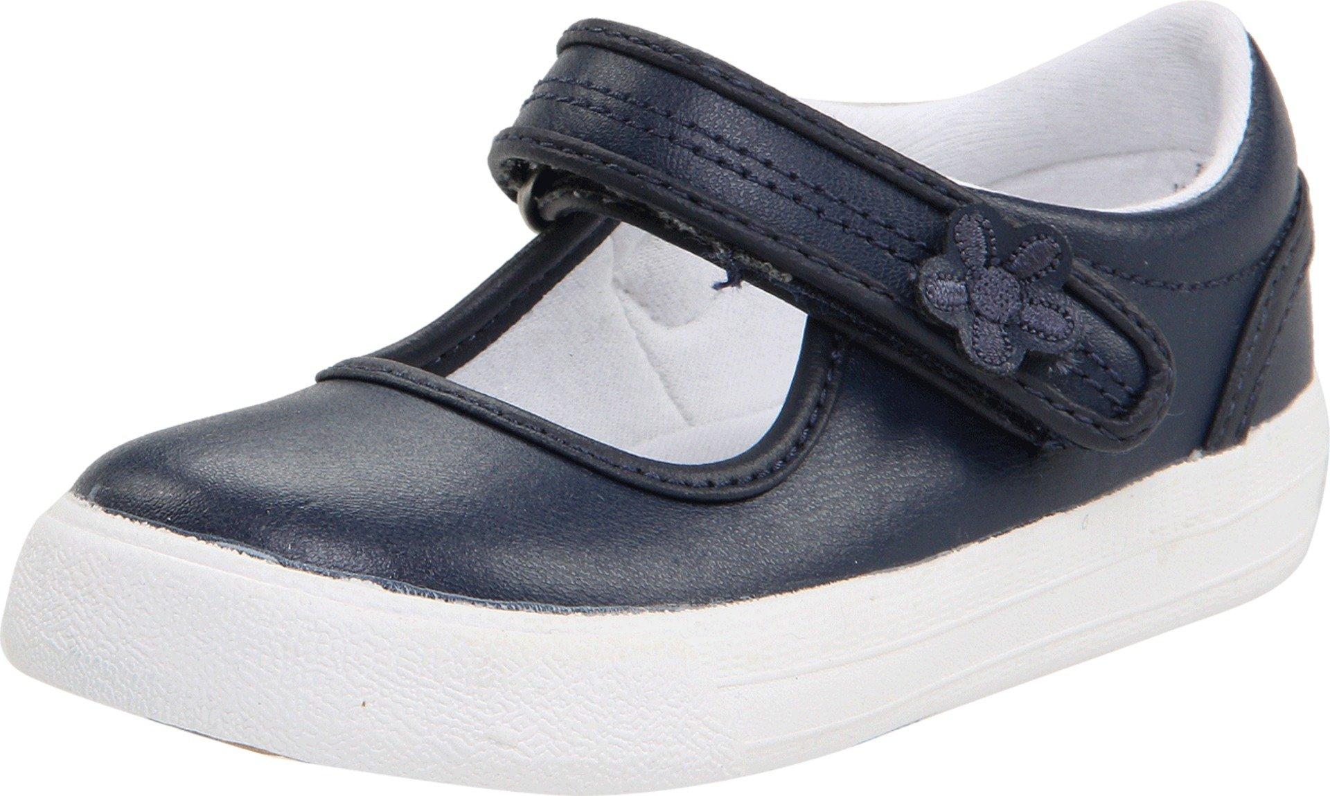 Keds unisex-child Ella Mary Jane Sneaker ,Navy,11 M US Little Kid by Keds (Image #1)