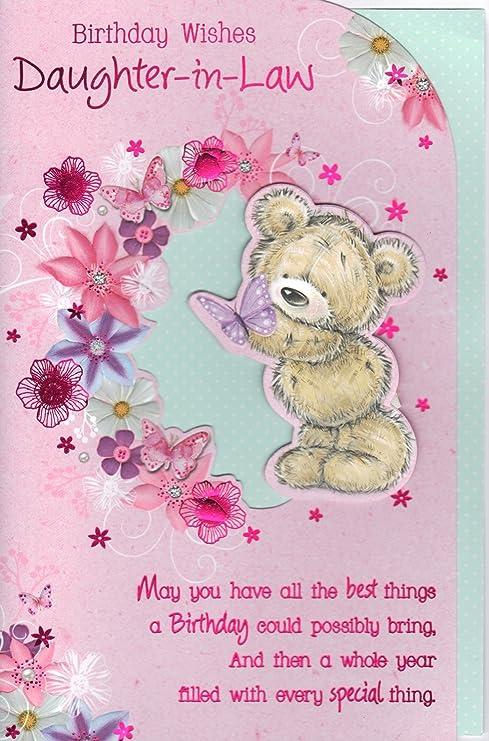 Geburtstagskarten Schwiegertochter Karte Birthday Wishes