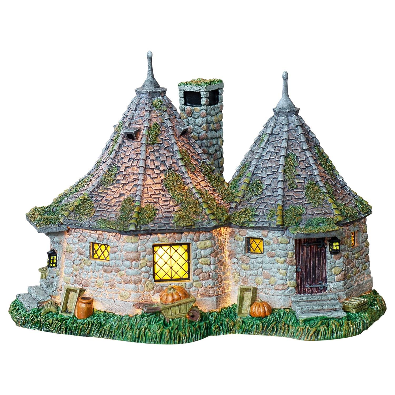 """Department 56 Harry Potter Village Hagrid's Hut Lit Building, 6.7"""""""